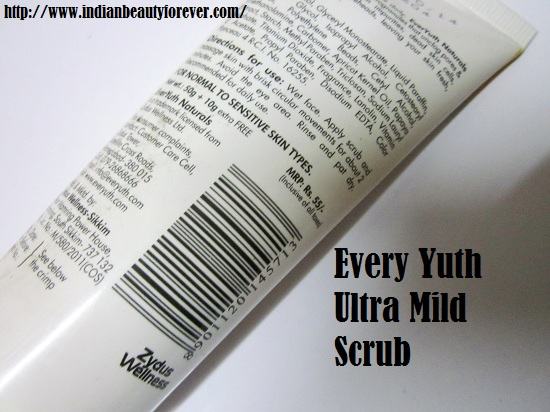 Everyuth Ultra Mild Scrub