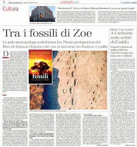Tra i fossili di Zoe
