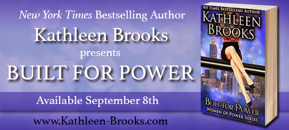 Book Highlight & Giveaway: Built For Power By Kathleen Brooks