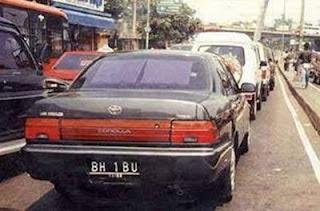 pelat mobil lucu - lensaglobe.blogspot.com