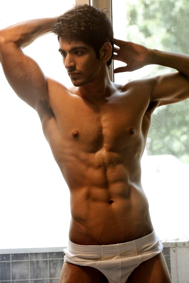 indian handsome naked male