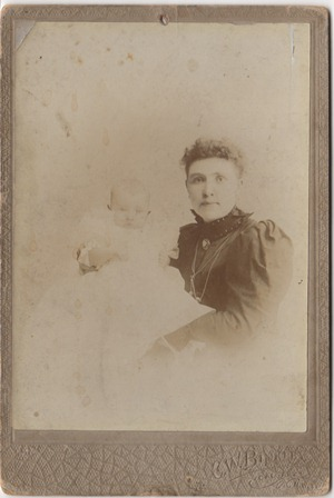 Second Hand Stores Calgary >> Family Photo Reunion: From Your Loving Wife, Nora Allen & Baby, c. 1899, Calgary, NWT
