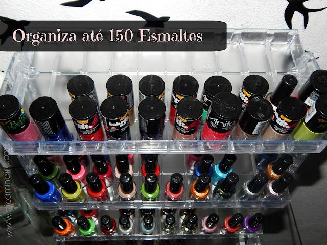 Display em Acrílico para organizar esmaltes