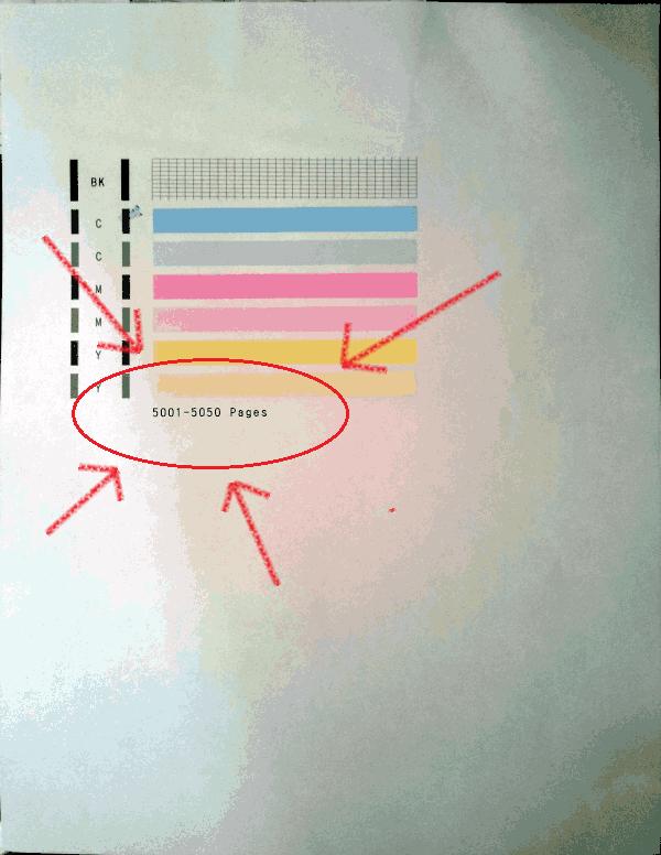 prueba de inyectores con cantidad de páginas