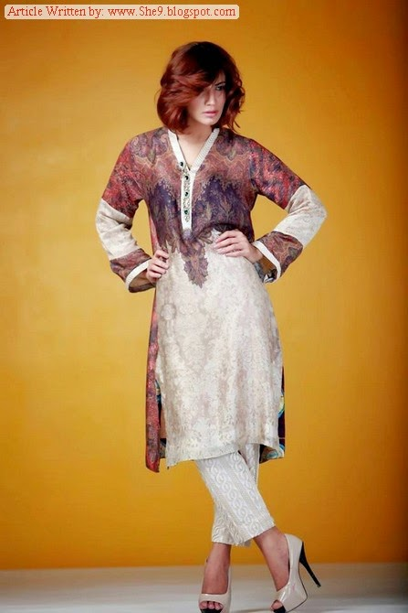 Ayesha-Somaya Eid collection 2014-2015
