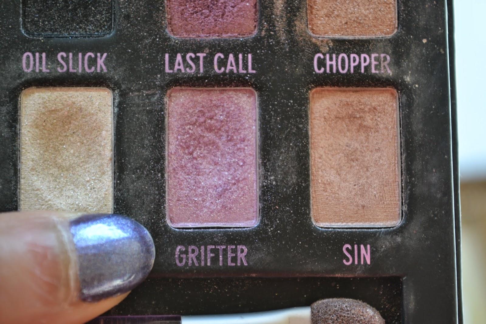 Urban Decay eyeshadow called Grifte