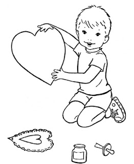 Free Valentines Coloring Pages For Kids