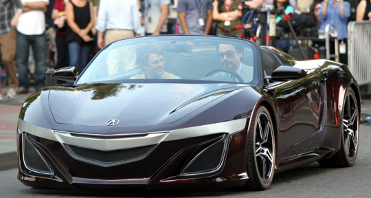 Acura Supercar From The Avengers Movie, Tony Stark / Iron Manu0027s Super Car