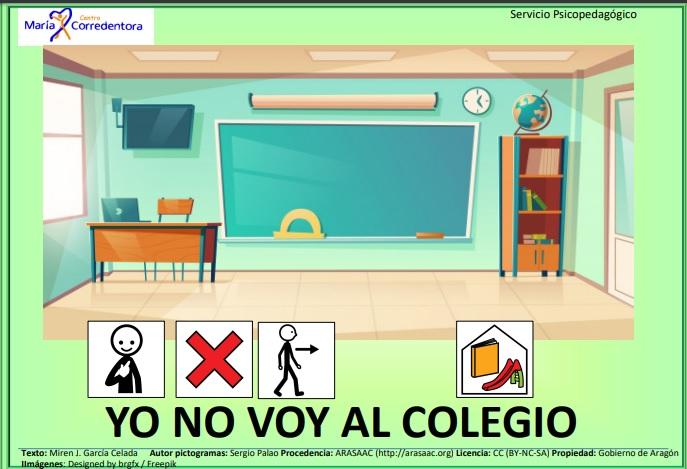 GUIÓN SOCIAL NO VOY AL COLEGIO