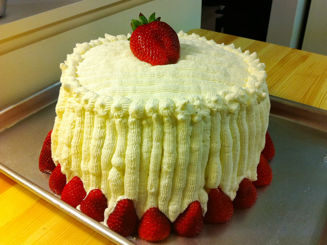 How To Make Strawberry Cassata Cake