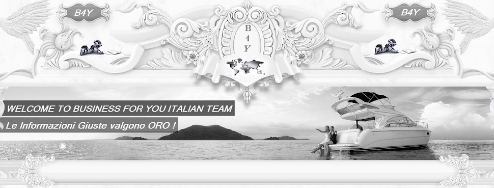 BUSINESS FOR YOU ITALIAN TEAM