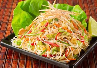 salads vietnamese chicken salad rolls chicken butter lettuce napa ...