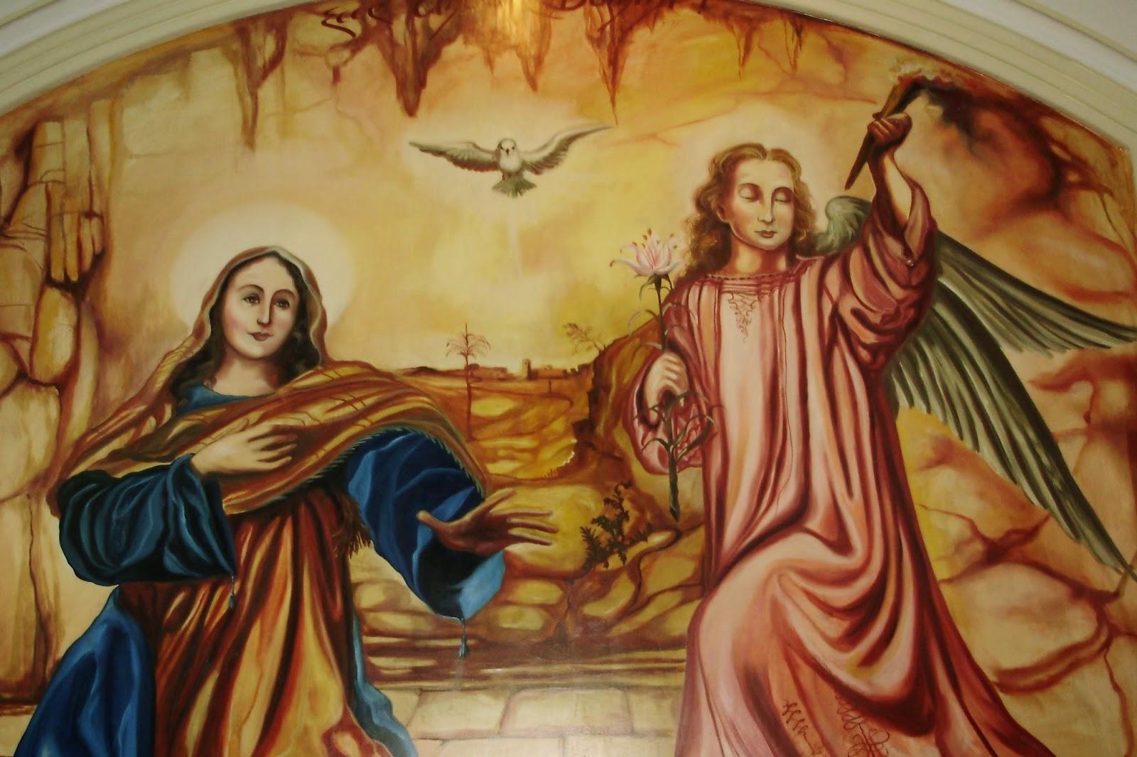 Nuestra Senora Madre De La Humanidad Anunciacion Del Angel Gabriel