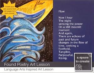 http://www.teacherspayteachers.com/Product/Found-Poetry-Lesson-729449
