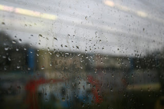 rain, metro, rain on window pane, bad weather, Bilbao metro, Bilbao, window rain