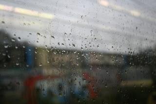 rain, metro, rain on window pane, bad weather, Bilbao metro, Bilbao, window rain
