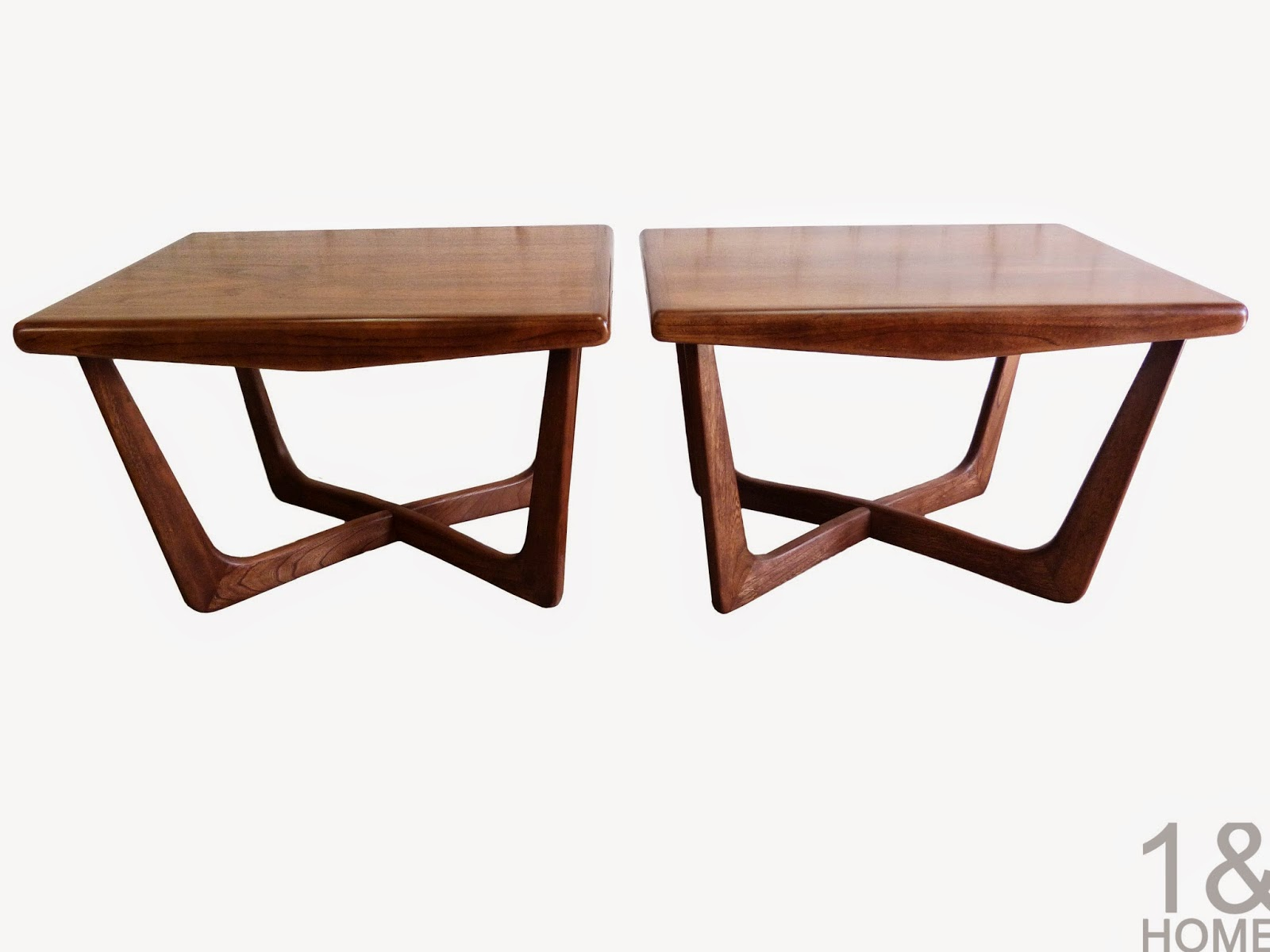 Adrian Pearsall Boomerang Side / End Tables for Craft Associates - Pair