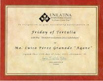"Friday of Tertulia with the ""ShowArt Unilatina 2011 Exhibition"" Miramar Florida"