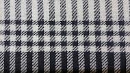 1. Schal in Alpaka / Seide