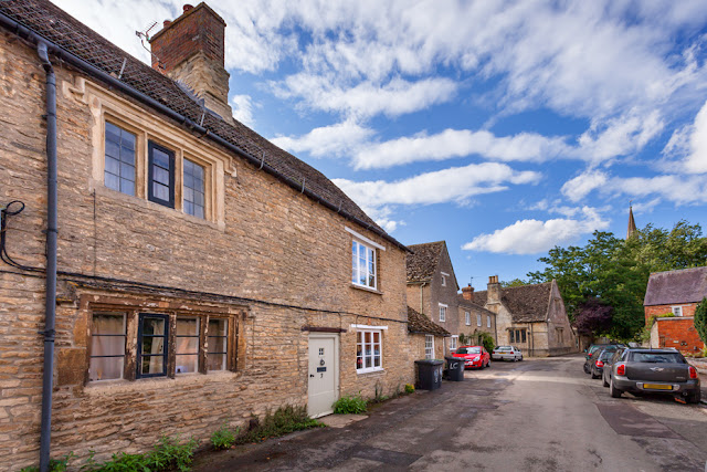 Oxfordshire Cotswolds village of Bampton, site of Downton by Martyn Ferry Photography