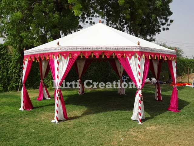 Designer Indian Tent -Designer Indian Tent is delicately designed to give an stylish and innovative attraction. Top pointed roof and white color makes this ... & Raj Tent-Tent Manufacturers: Traditional Look of Indian Tents