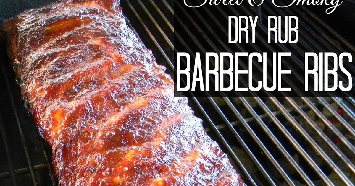 Pinspired Home: Sweet and Smoky Dry Rub Barbecue Ribs