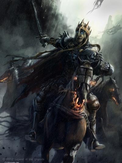 Rasmus Berggreen Concept Artist King Arthur Mummy