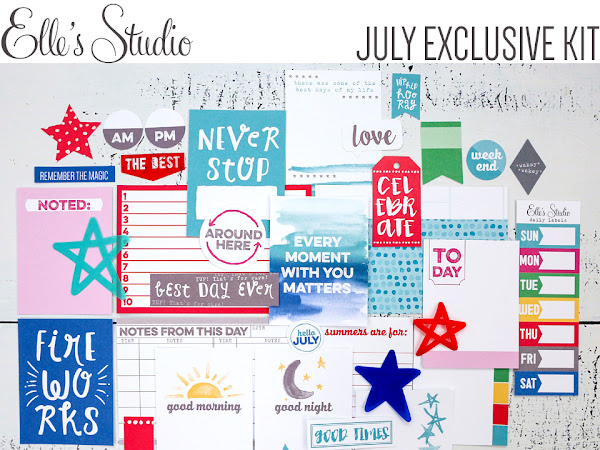 Elle's Studio Design Team : July Kit