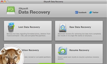 Giveaway iSkysoft Data Recovery for Mac Free License