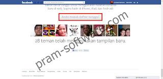 Tanda Sudah Terdaftar Dengan Tampilan Baru Facebook
