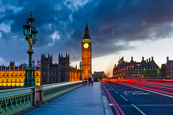 Top romantic places in london