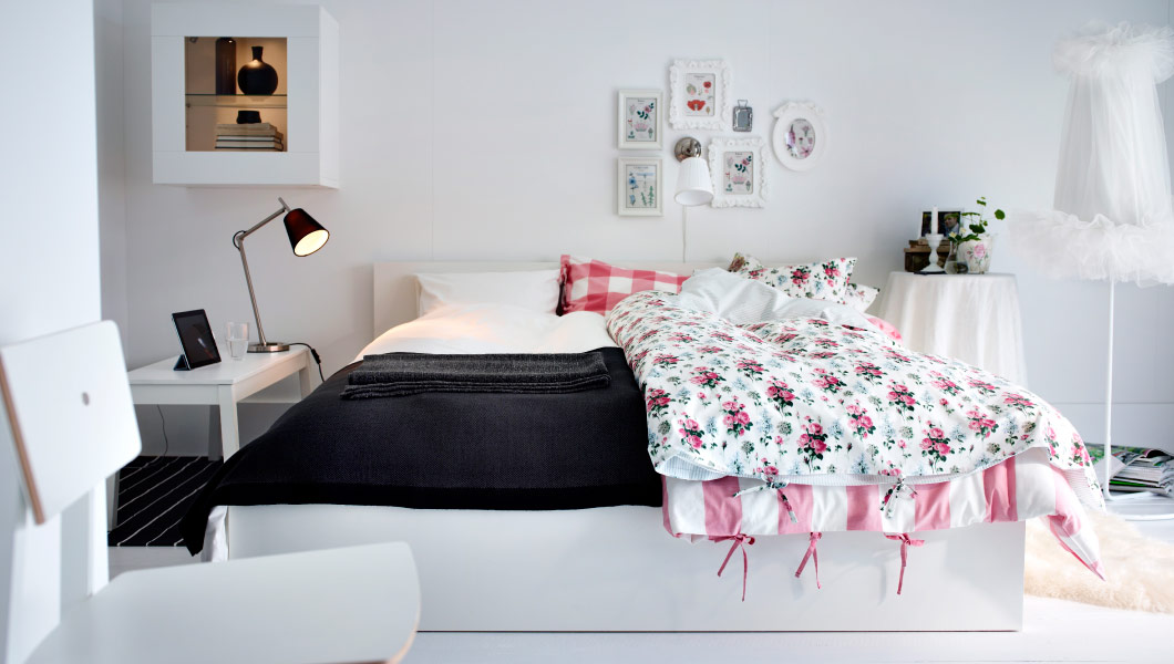Hogar diez dormitorios ikea - Dormitorio malm ikea ...