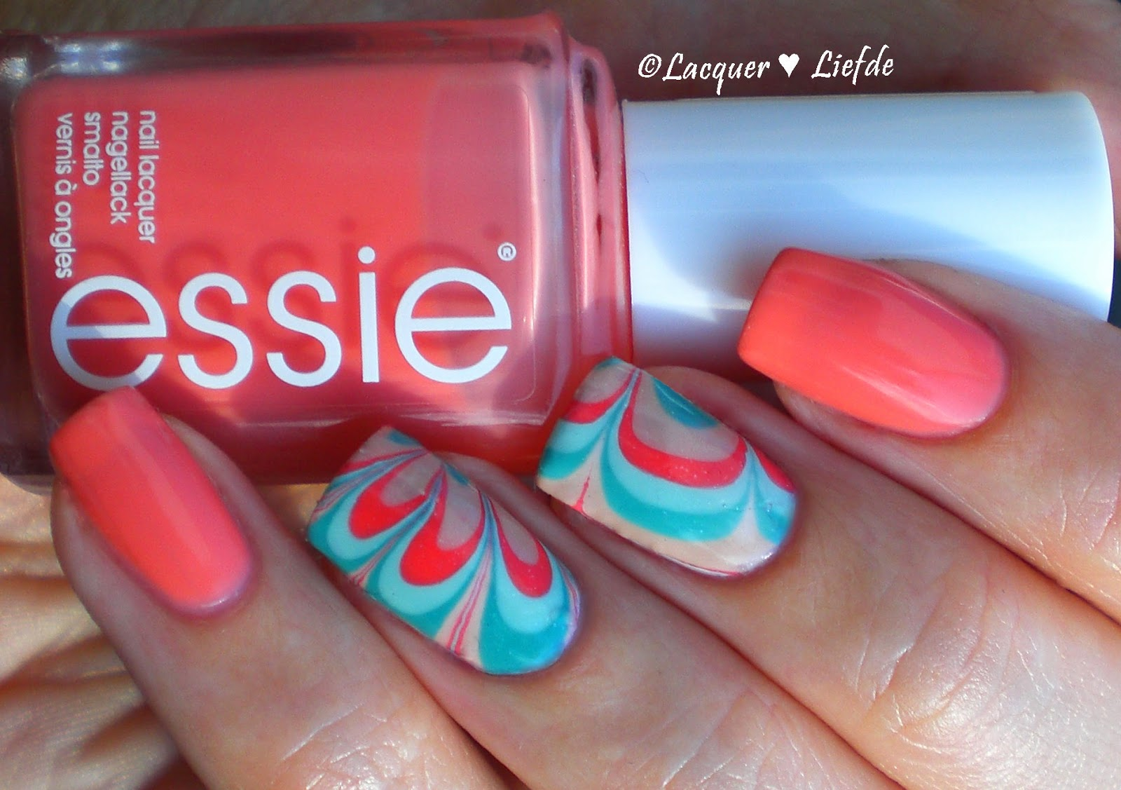 Water Marble Decals Essie