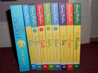 Enid Blyton and Jodi Picoult Books