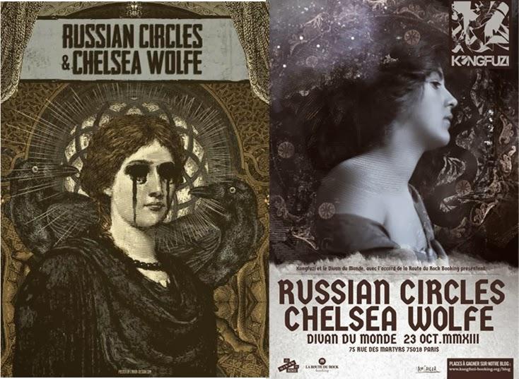 Boatamusik le blog live report chelsea wolfe for Divan du monde