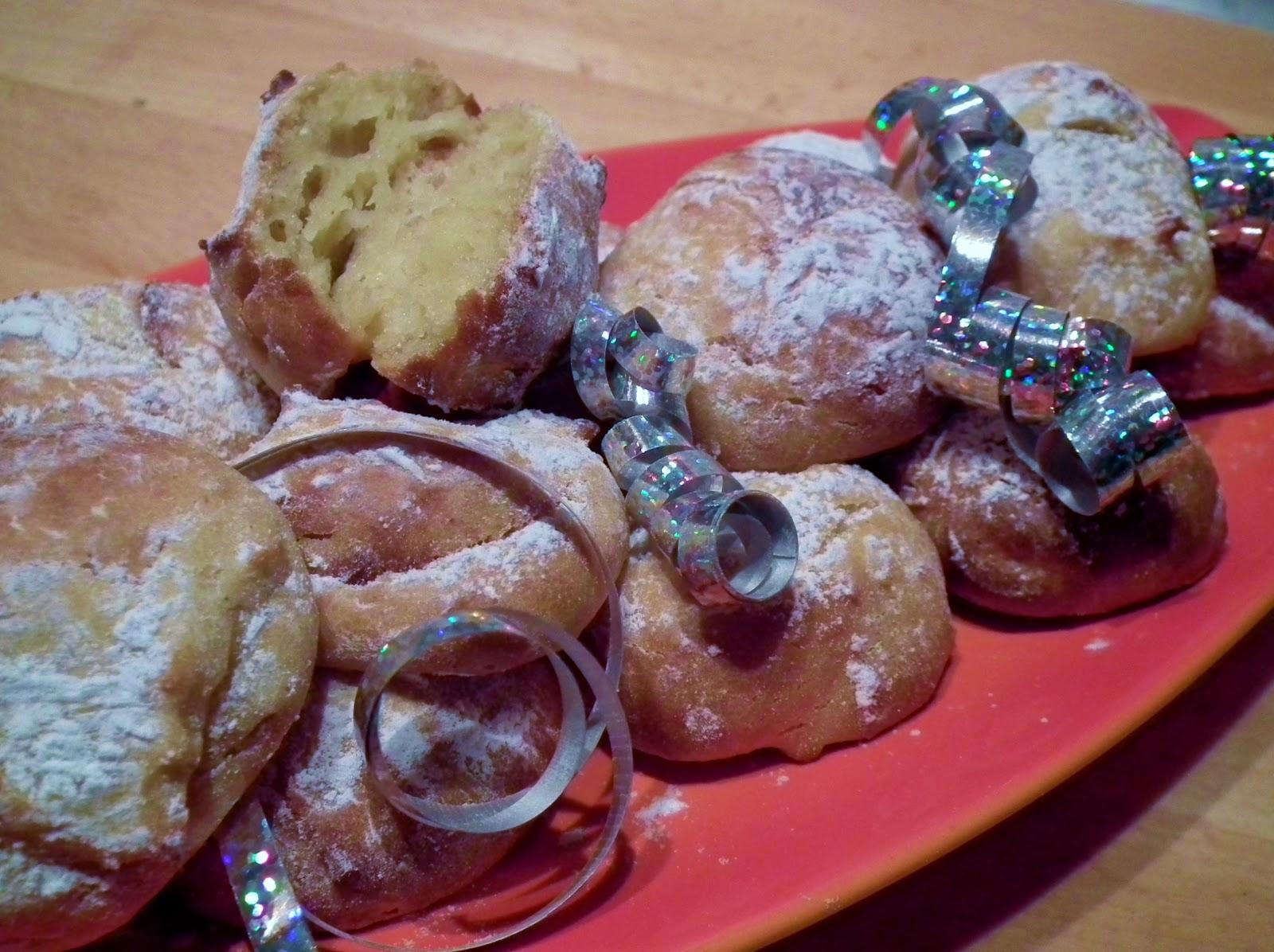 frittelle di carnevale al forno ( senza burro e senza lievito)
