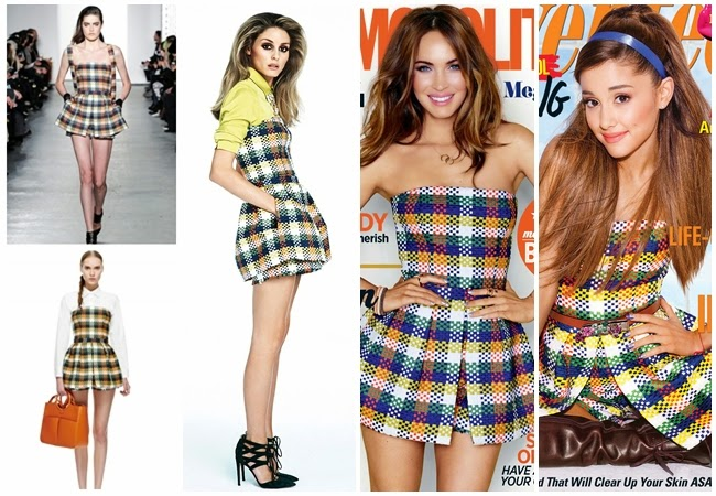 Ariana Grande、Megan Fox、Olivia Palermo wore the same jumpsuit 2014