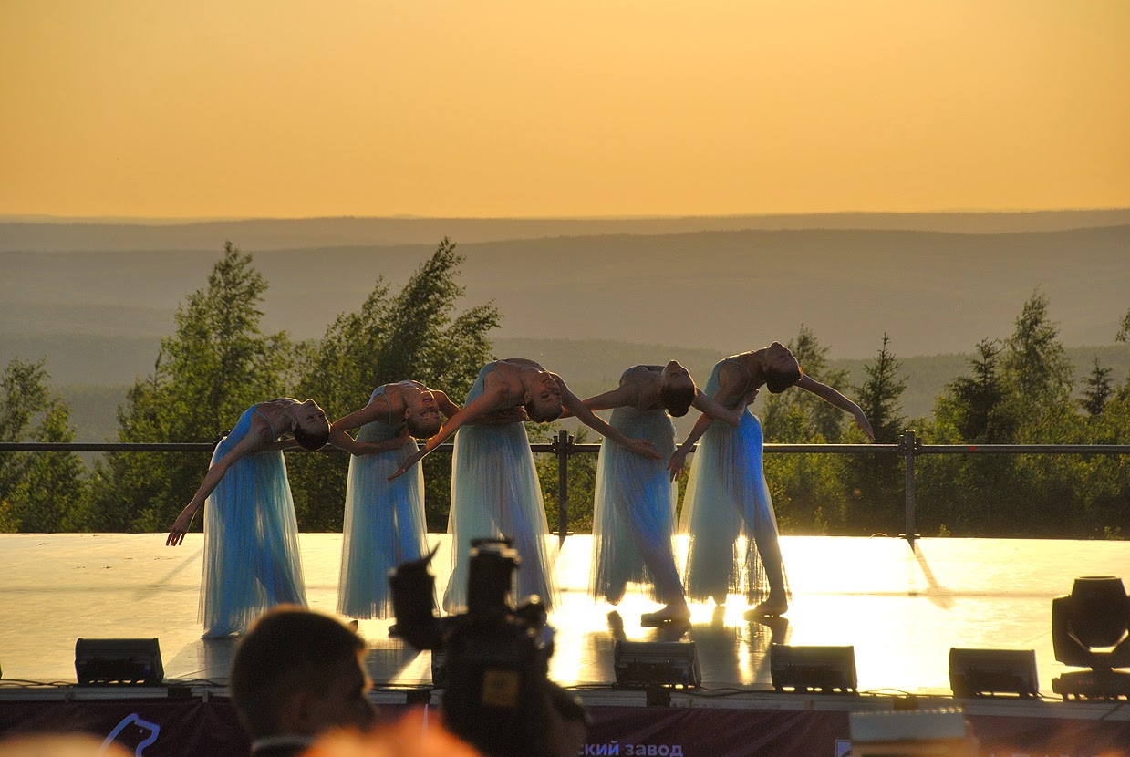 Балет на закате Губаха гора Крестовая