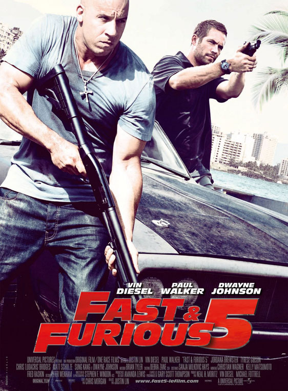 fast five movie cast. Fast Five Movie Poster