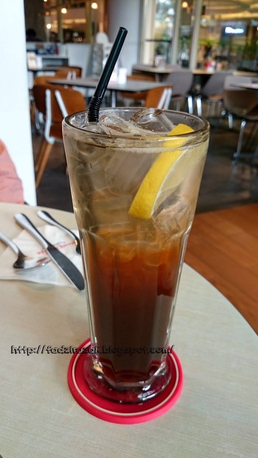 Iced Lemon Tea