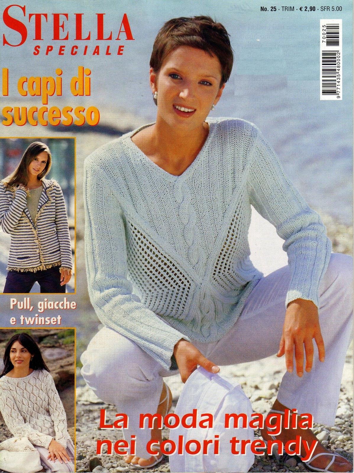Итальянский сайт вязание спицами