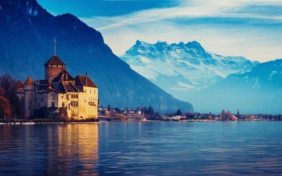 Lago Genebra, Suíça