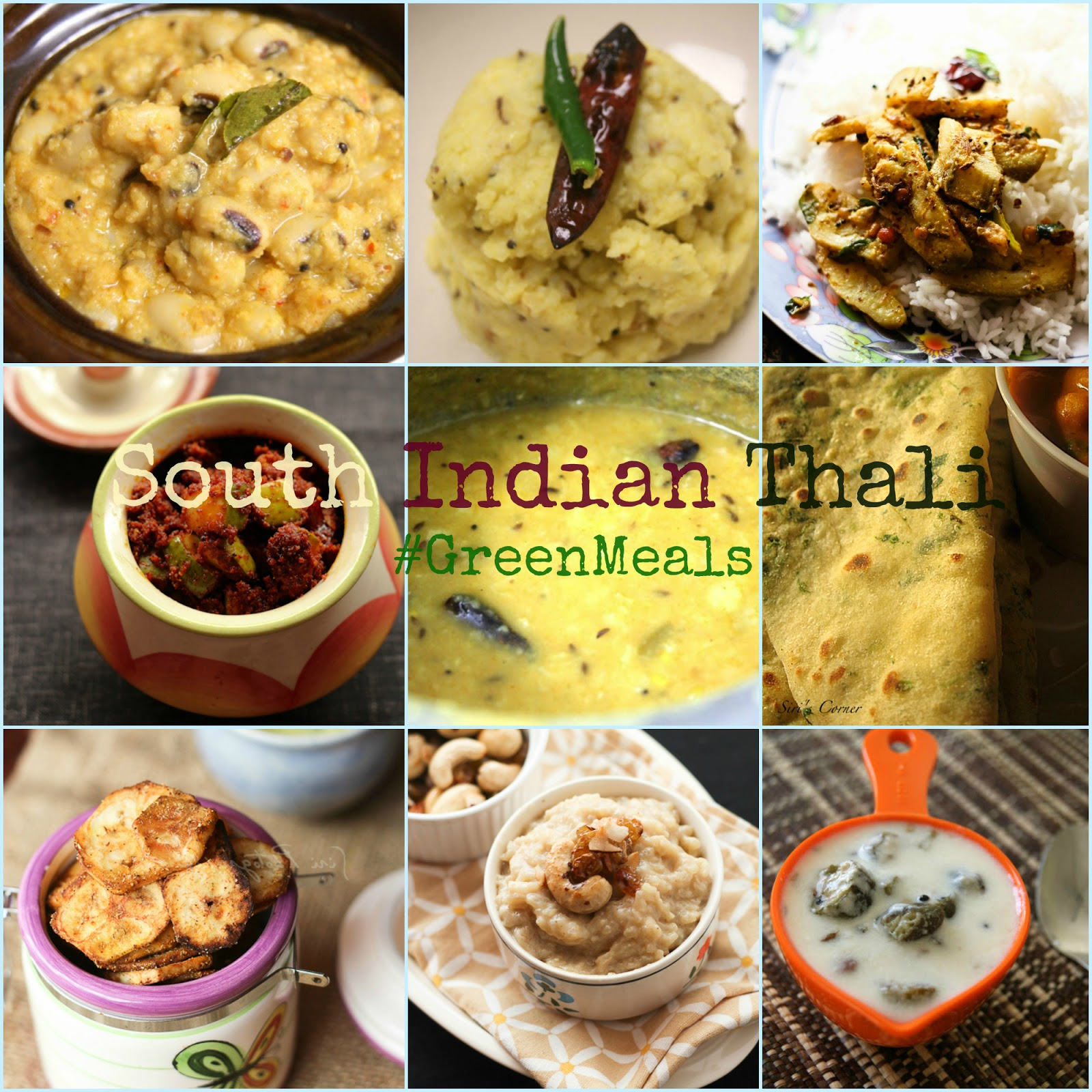 Cooking with siri recipes reviews and reflections celebrating cooking with siri recipes reviews and reflections celebrating food day 2015 top 10 greenmeal recipes a virtual south indian thali forumfinder Images