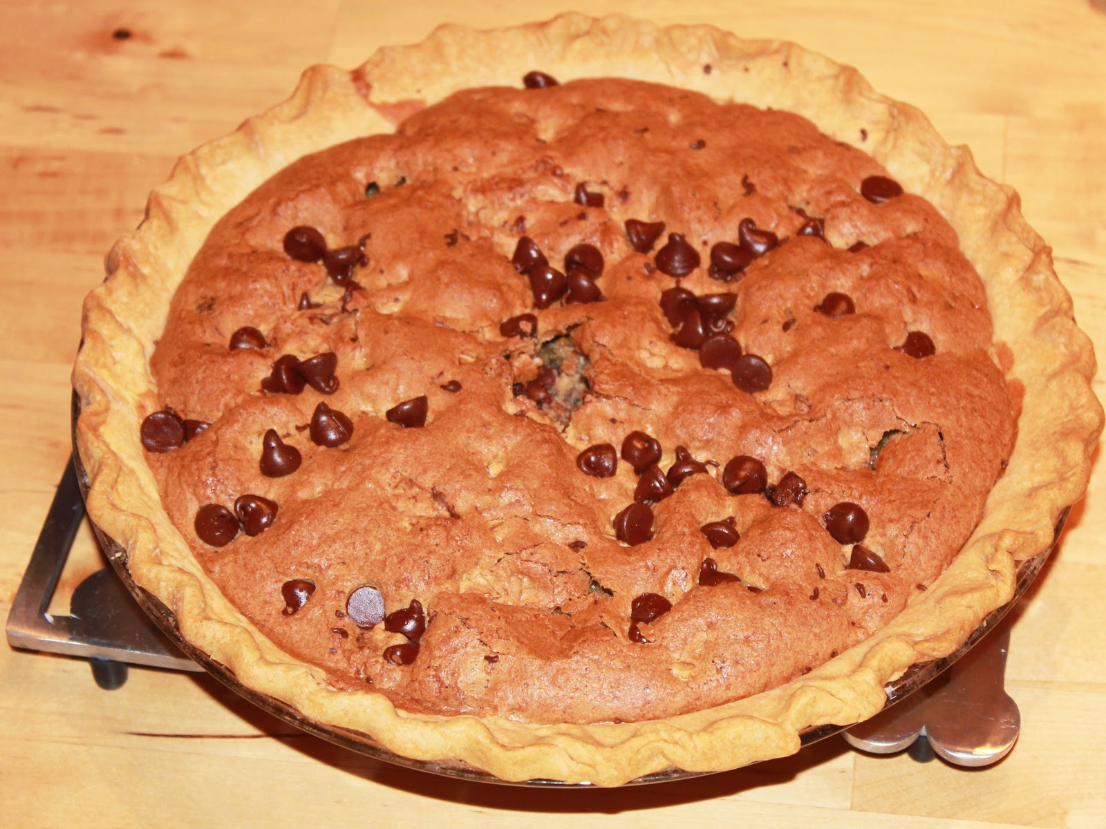 Musings by Jacquelyn: Chocolate Chip Pie
