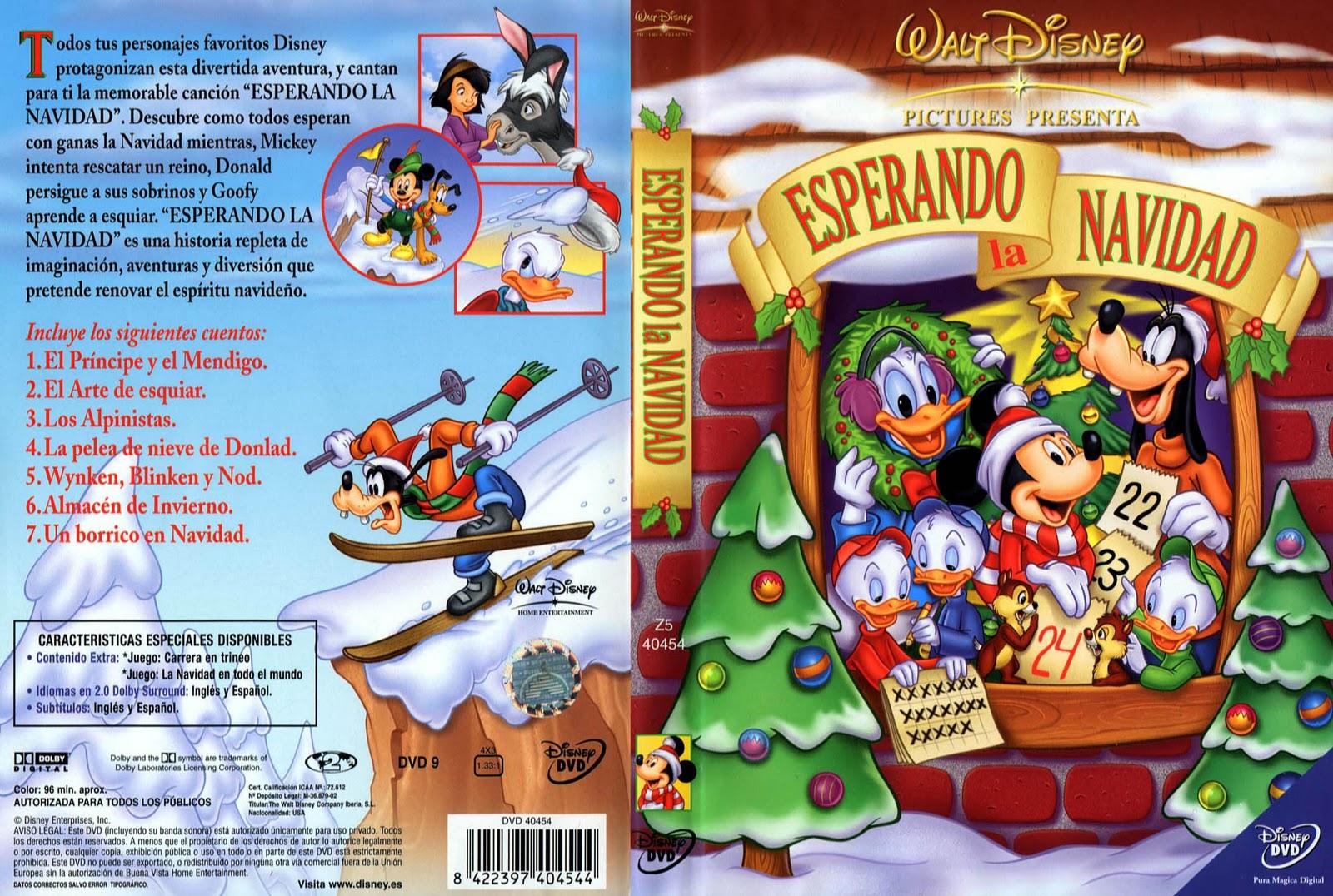 Colorear Pintar: ESPERANDO LA NAVIDAD Walt Disney