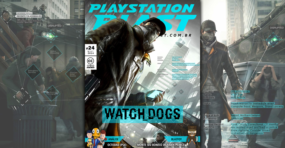 Revista PlayStation Blast Nº24 Revista+Watch+Dogs