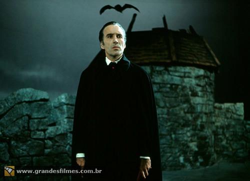 Christopher Lee em O Conde Drácula (1970)