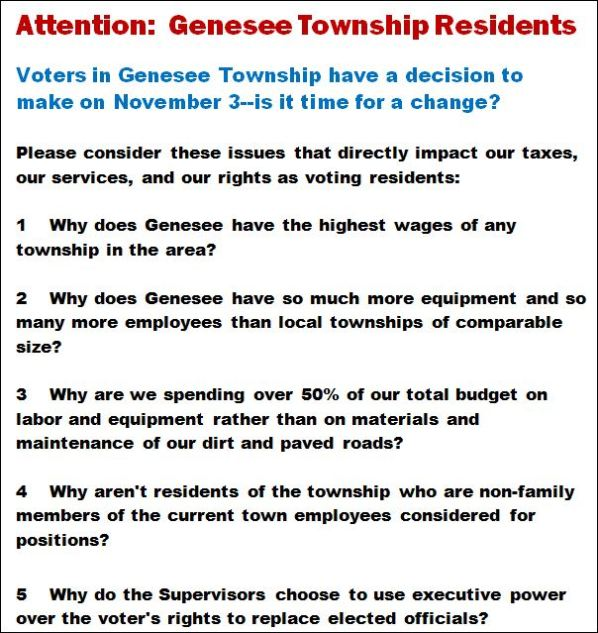 Solomon S Words For The Wise Attention Genesee Township