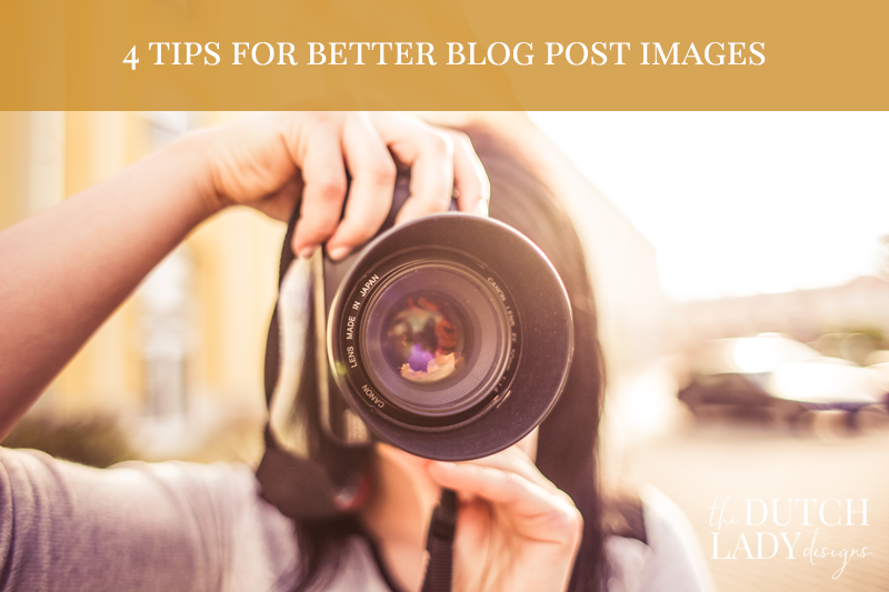 tips for better blog post images