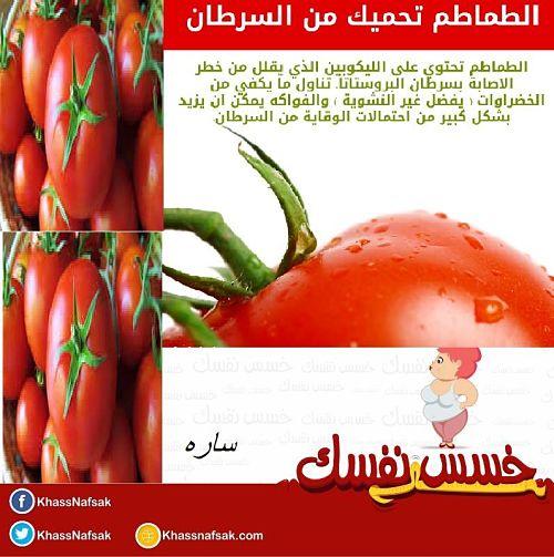 الطماطم والسرطان